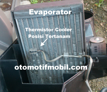 Thermistor cooler ac
