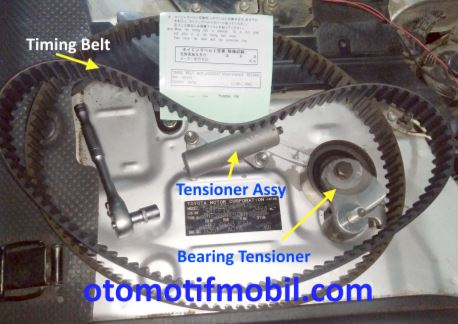 Gambar timing belt toyota hiace 2kd-ftv