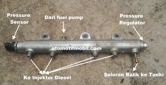 Gambar common rail ford ranger