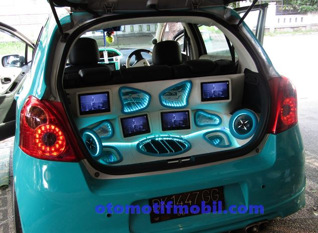 modifikasi audio yaris