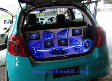foto modif audio yaris